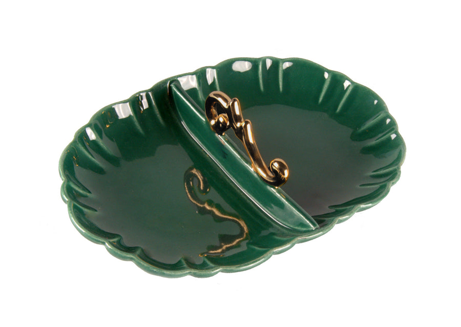 Appetizer Handle Gold-Green