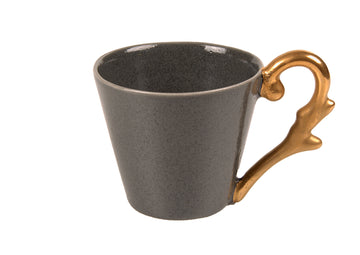 Mug Handle Gold-Grey
