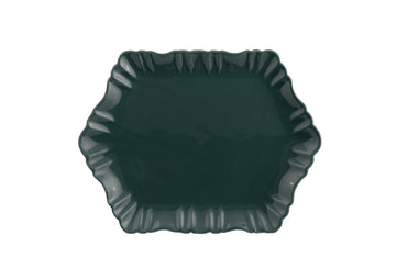 Cloud Appetizer Plate Medium-Green
