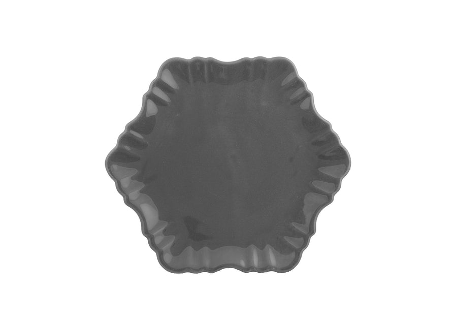 Cloud Cake Plate-Grey