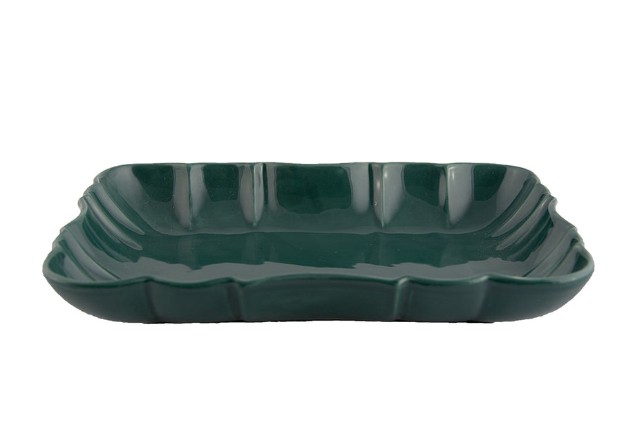 Deep Platter Large-Green