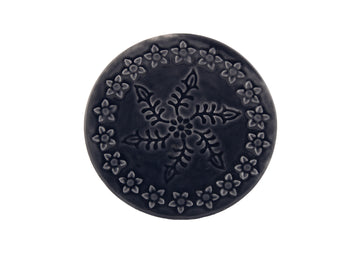 Saucer (Turkish  Coffee)-Navy Blue