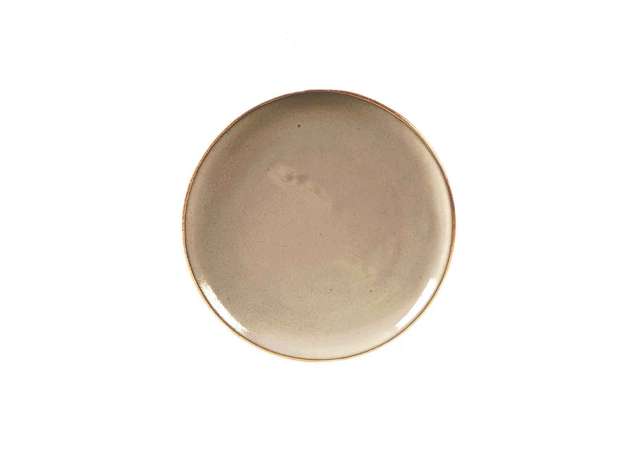 Bread Plate Gold-Beige