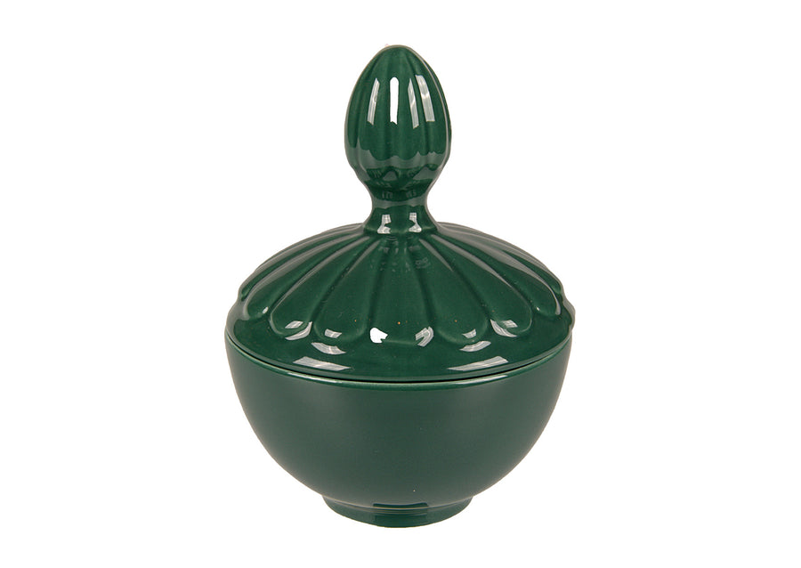 Covered Bowl Medium- Green