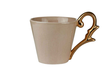 Mug Handle Gold-Beige
