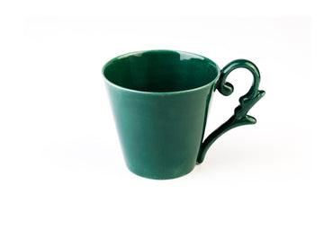Turkish Coffee Cup - Green