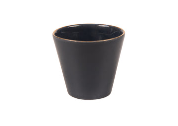 Double Espresso Cup Round Gold-Navy Blue