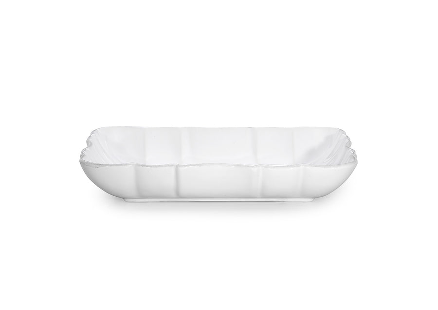 Deep Platter Small-White