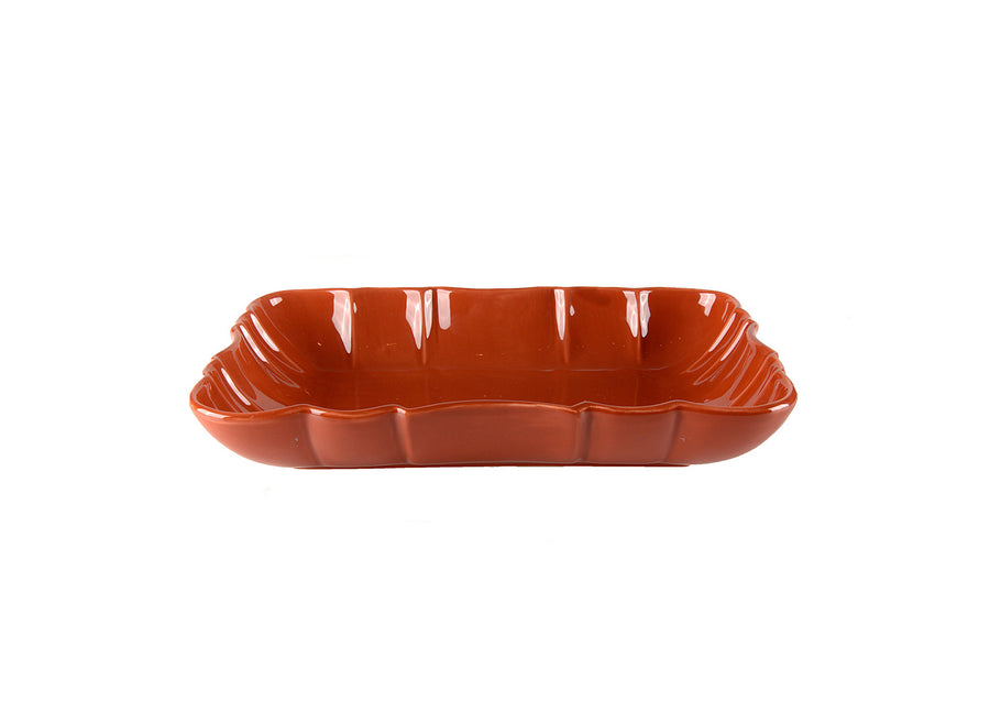 Deep Platter Small-Coral