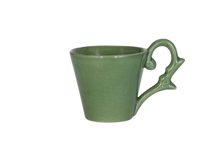 Turkish Coffee Cup-Light Green