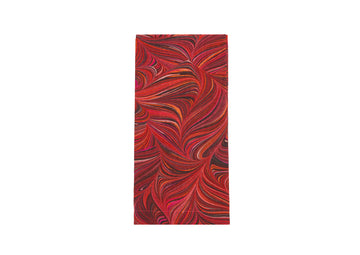 Napkin-Red Marbled