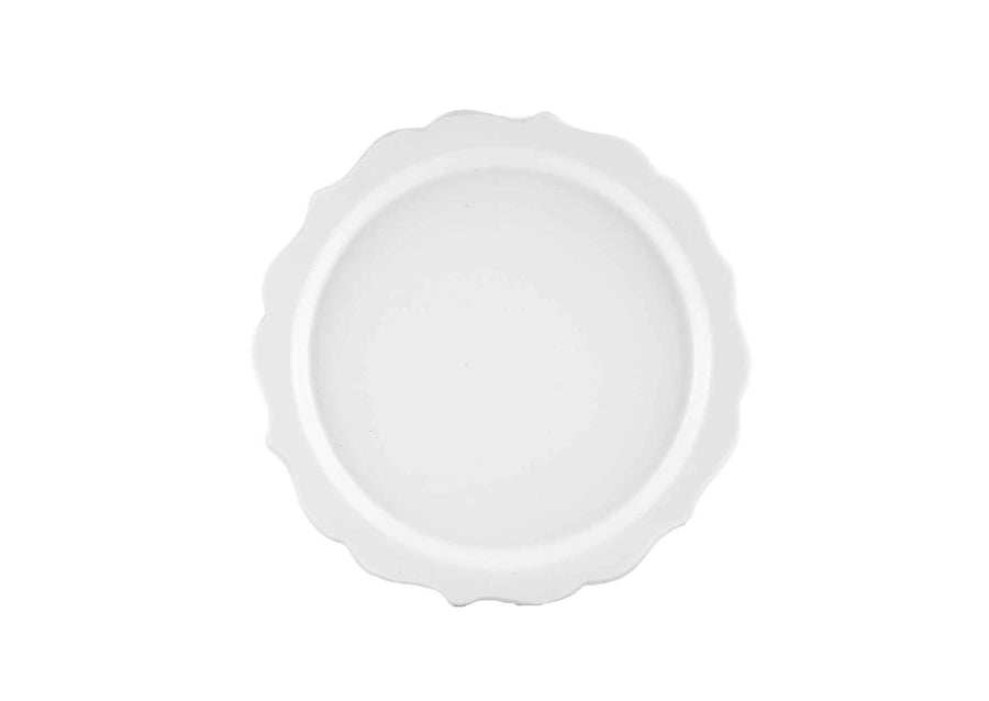 Lotus Plate Small-White