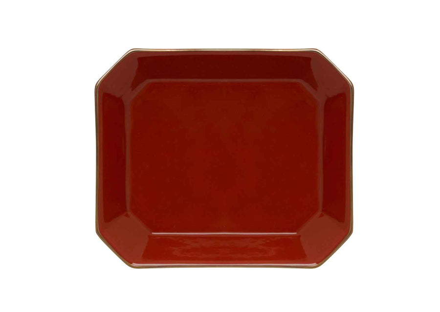 Octave Plate Medium Gold-Coral