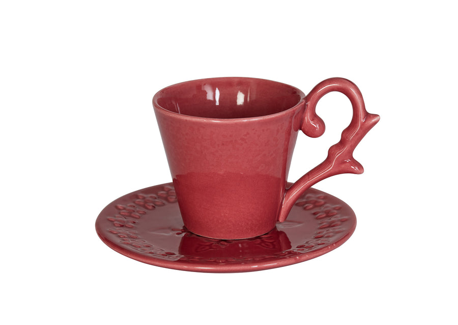 Saucer (Turkish  Coffee)-Pink