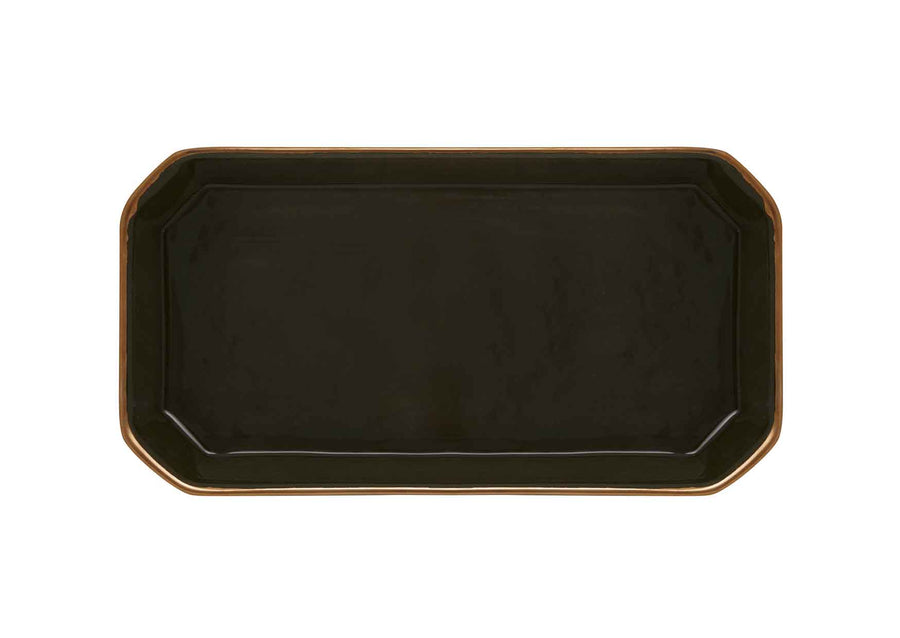 Octave Plate Small Gold-Khaki