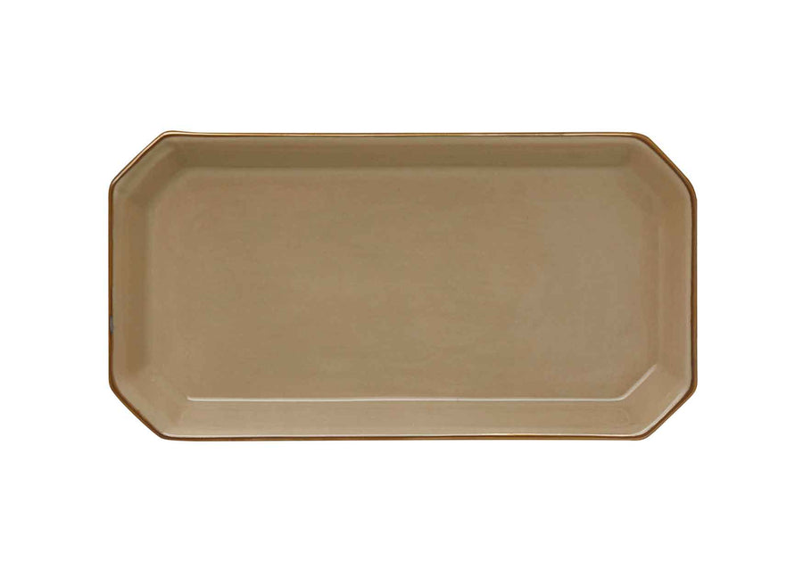 Octave Plate Small Gold-Beige