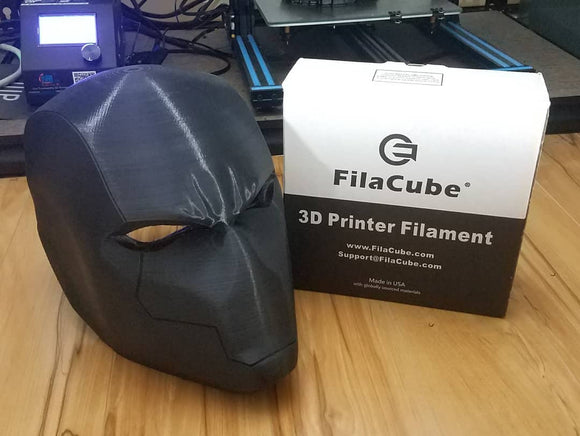 2.85mm 1KG Black FilaCube 3D Printer PLA 2 filament 3mm