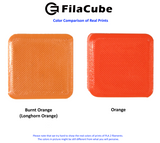 Orange 1.75mm 1KG FilaCube 3D Printer PLA 2 filament