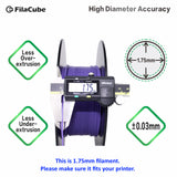 1.75mm 1KG Ultra Violet FilaCube 3D Printer PLA 2 filament Purple