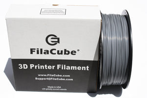2.85mm 1KG Gray grey FilaCube 3D Printer PLA 2 filament 3mm
