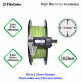 1.75mm 1KG Greenery - Color of the Year 2017 FilaCube 3D Printer PLA 2 filament