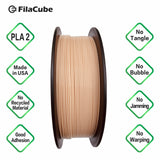 Skin/Flesh 1.75mm 1KG FilaCube 3D Printer PLA 2 filament