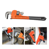 Tooltoo Stainless Steel Pipe Wrench Heavy-duty Plumbing Wrenches