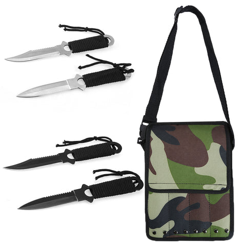 Tooltoo 4 in 1 Scuba Diving Knife Set