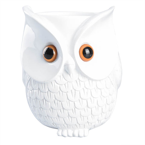 Tooltoo-Owl-Station-Stand-Owl-Statue-Crafted-Guard-Station-Holder-Portable-Speaker-Stand-for-Amazon-Echo-Dot-2nd-Generation-and-1st-Generation-White-1