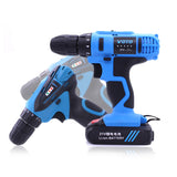 Tooltoo Electric Drill Rechargeable Cordless Drill Battery-driven Electronic Drills