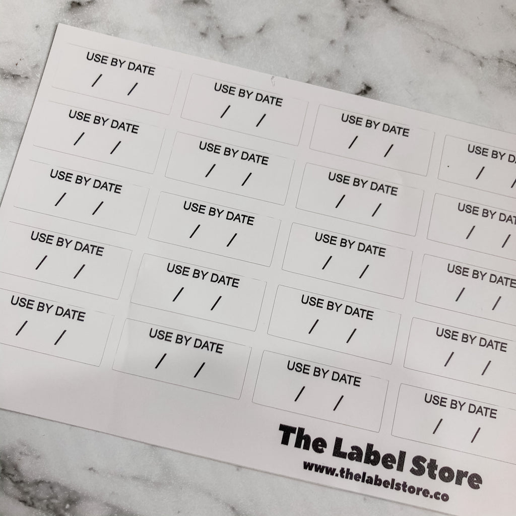 Use By Date Labels