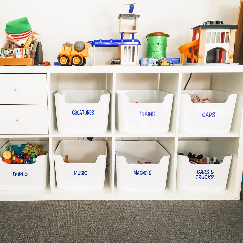 Toy Storage Labels