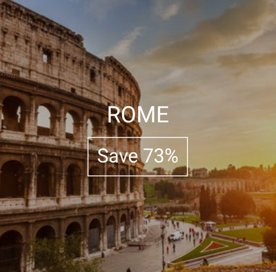 ROME Vacation promotion