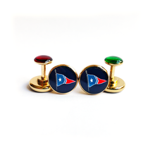 Load image into Gallery viewer, York River Traders Custom Cufflinks