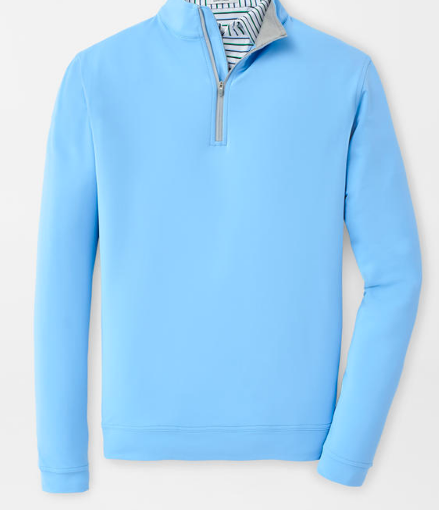 Peter Millar Men's Perth Stretch Loop Terry Performance 1/4 Zip