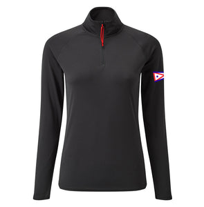 Gill Women's UV Tech Zip Neck Polo