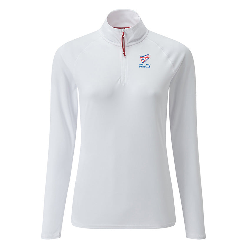 Ws UV Tech Zip Neck Polo by Gill