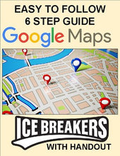 Load image into Gallery viewer, Google Maps Ice Breaker Activity - Roombop