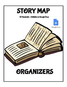 Digital Story Maps Templates (Editable on Google Docs) - Roombop