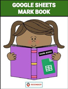 Mark Book Template with Guide - Roombop