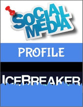 Load image into Gallery viewer, Social Media Profile Ice Breaker - Roombop