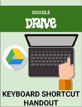 Load image into Gallery viewer, Google Drive - Keyboard Shortcut Handout - Roombop