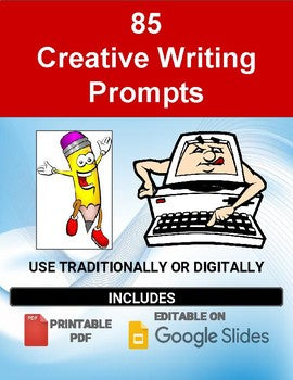85 Writing Prompts (Quick Write Topics) - Roombop