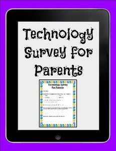 Technology Survey for Parents - Roombop