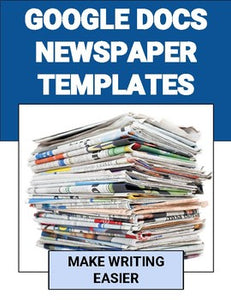 Newspaper Templates (Two Different Styles) - Roombop
