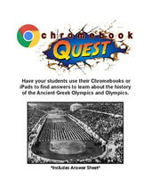 Load image into Gallery viewer, Webquest: Olympic History - Roombop
