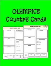 Load image into Gallery viewer, Olympic Country Cards - Roombop