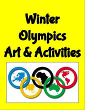 Load image into Gallery viewer, Winter Olympics Art & Activities - Roombop