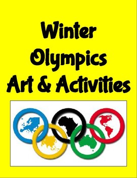 Winter Olympics Art & Activities - Roombop