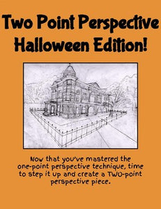Two Point Perspective Halloween Edition! - Roombop
